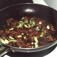 Stir Fried Beef With Ginger