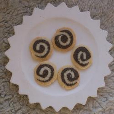 Poppy Seed Swirl Biscuits