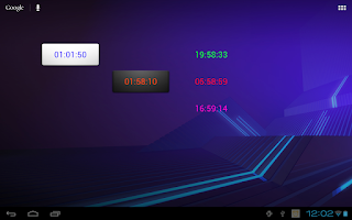 Screenshot of Easy Timer Widget