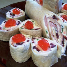 Cranberry Ham & Cheese Appetizers (Or Wraps)