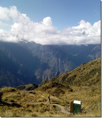 loo on inca trail