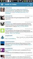Screenshot of Health - Daily info