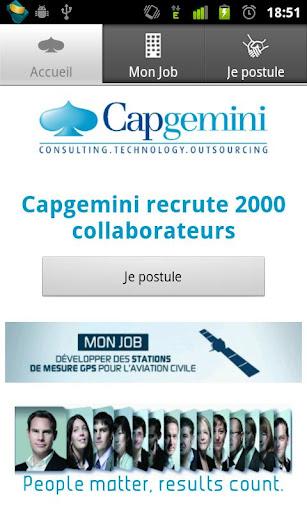Capgemini - Mon job ma vie
