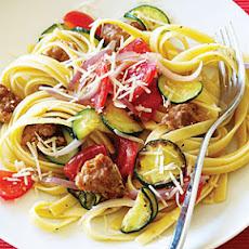 Spicy Sausage, Kale, and Lemon Pasta Recipe | Yummly