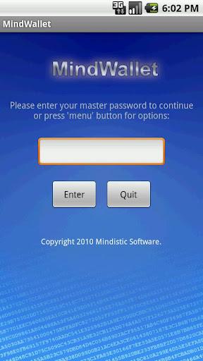 MindWallet - Password Manager