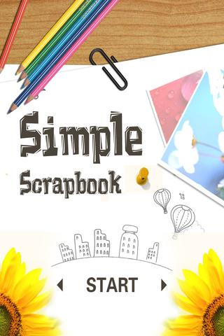 Simple Love Scrapbook Free