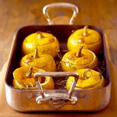 Roasted Baby Pumpkins