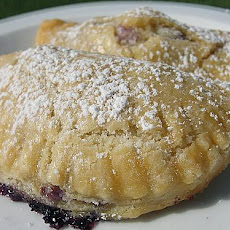 Blueberry and Mascarpone Turnovers