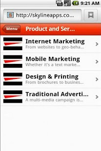 BrandVision Marketing - screenshot