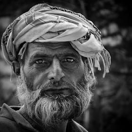 My Presence... by Ravindra Tanwar - People Portraits of Men ( indian men, people, portrait )