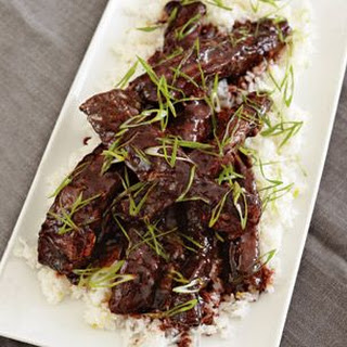 Chinatown-Inspired Pork Ribs with Scallion Rice