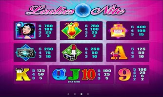 Screenshot of Ladies Nite Slot