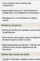 Screenshot of News Diritto