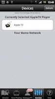 Screenshot of AppleTV AirPlay Media Player