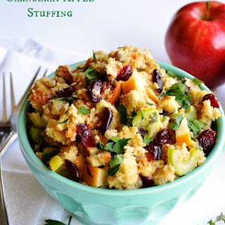 {Crockpot} Cranberry Apple Stuffing