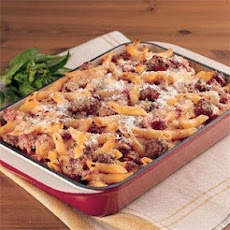 Pasta Rustica with Chicken Sausage and Three Cheeses