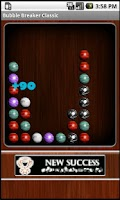 Screenshot of Bubble Breaker Classic
