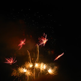 boom by BreAnne Smith - Abstract Fire & Fireworks ( stars, fireworks )