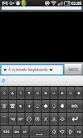 Screenshot of SymbolsKeyboard (trial)