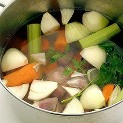 Chicken Giblet Stock