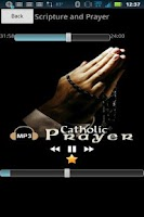 Screenshot of Audio Catholic Prayer