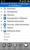 Screenshot of Florence and Tuscany Travel