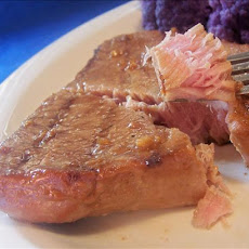 Low-Fat Teriyaki Grilled Tuna Steaks