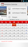 Screenshot of Romania Calendar 2014