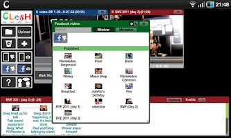 Screenshot of Clesh Video Editor