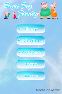 Family Pig Puzzle Game - screenshot