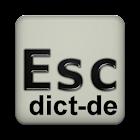 German dictionary (Deutsch) icon