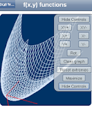 Screenshot of 3D Functions Grapher