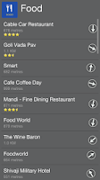 Screenshot of Food Places Near Me