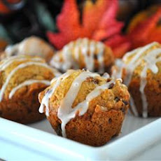 Spiced Raisin Mini Muffins