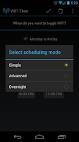 Screenshot of WiFi Time