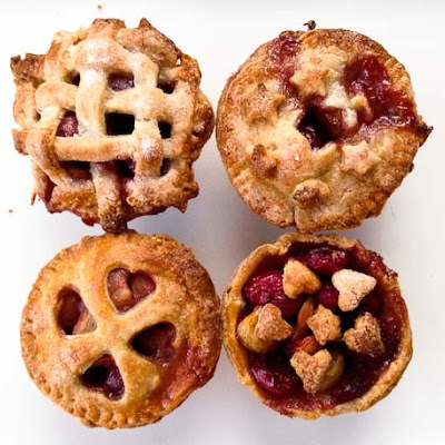 Mini Sweet Cherry Pies