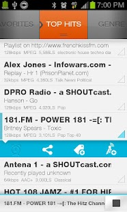 Screenshots  XiiaLive™ - Internet Radio