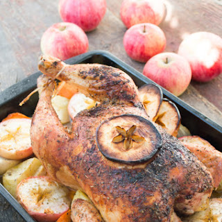 Apple and Herb Roasted Chicken