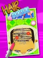 Screenshot of Hair Doctor Clinic – Kids Game