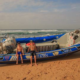 Lifesavers in training! by Nicholas Sykes - Transportation Boats