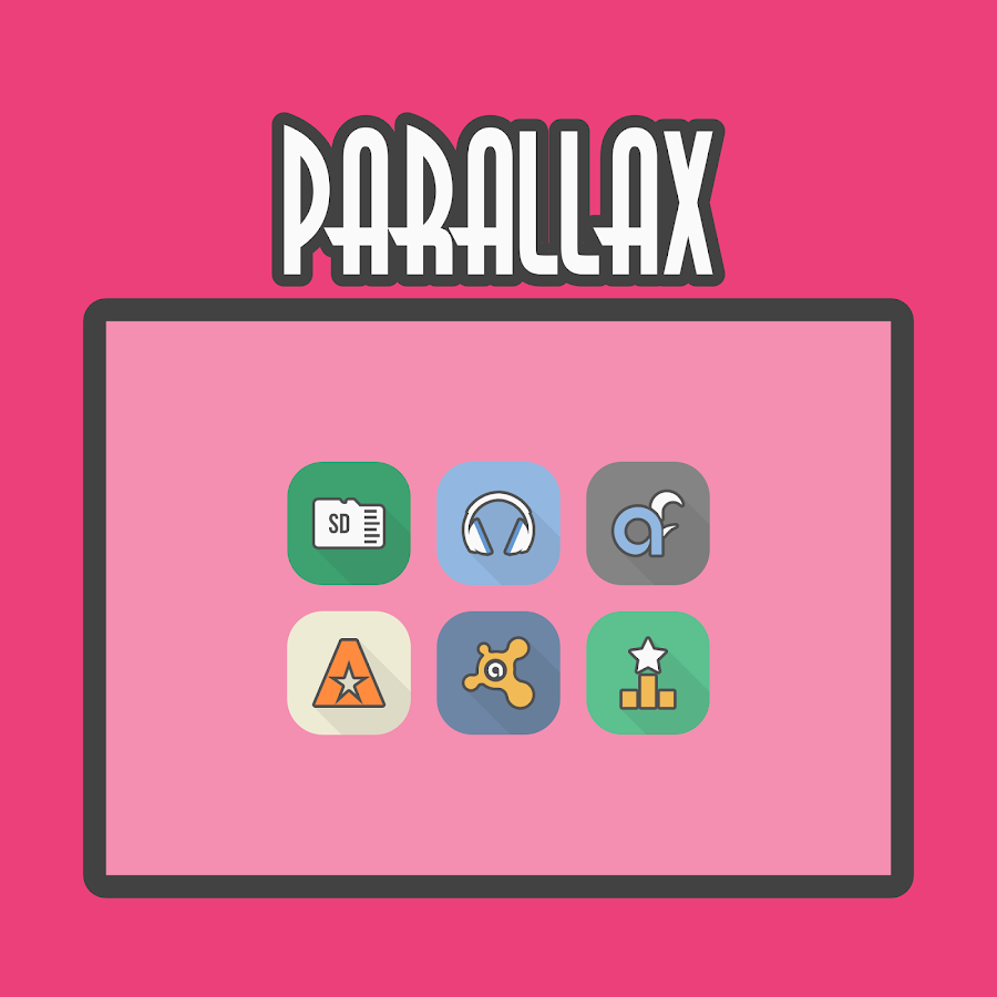 Parallax - Icon Pack Screenshot 7