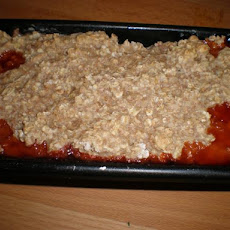 Rhubarb Crisp:  a Celebration of Summer!
