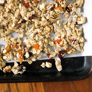 Homemade Maple Coconut Granola