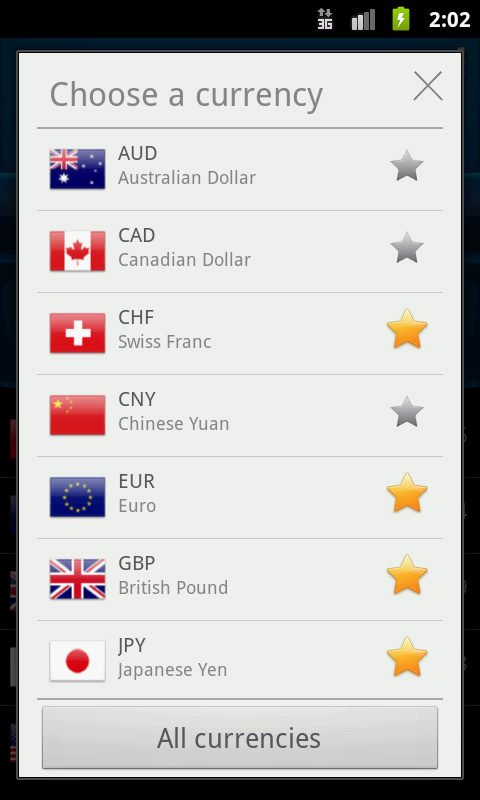 Easy Currency Converter Pro Screenshot 1