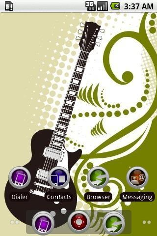 Play Guitar [SQTheme] for ADW