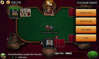 Screenshot of Teen Patti King ♠ Flush Poker