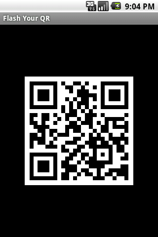 Flash Your QR