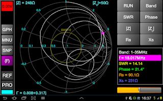Screenshot of Blue VNA