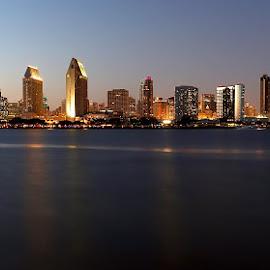 The view from Coronado by Jeet Kumar - City,  Street & Park  Skylines