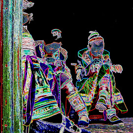 Embroidery by Soewandi Chan - Digital Art People
